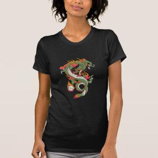 Dragão no fogo camisetas