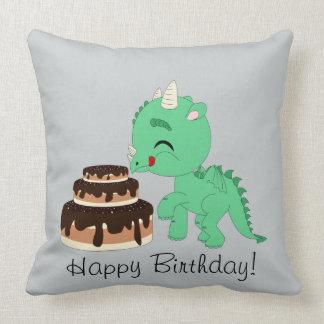 Dragão - travesseiro decorativo 20x20 almofada