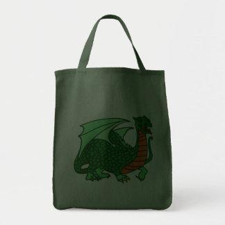 Dragão verde bolsa para compra