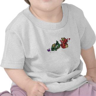Dragões carnudos t-shirts