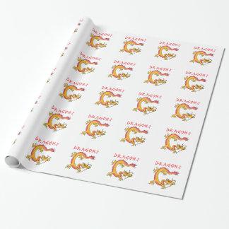 Dragões Papéis De Embrulho