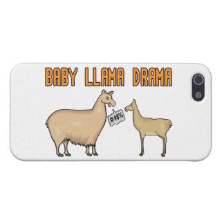 Drama do lama do bebê iPhone 5 capa