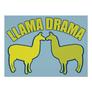 Drama do lama pôster
