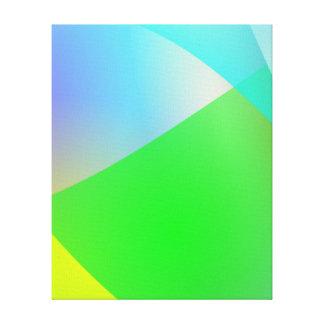 Drapeja Impressão De Canvas Envolvidas