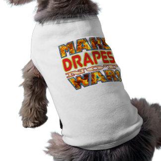 Drapeja fazem X Camisa Sem Mangas Para Cachorro