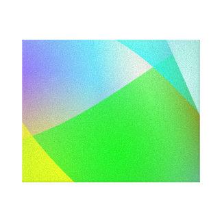 Drapeja Impressão De Canvas Envolvida