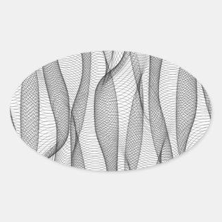 Drapeje Adesivo Oval