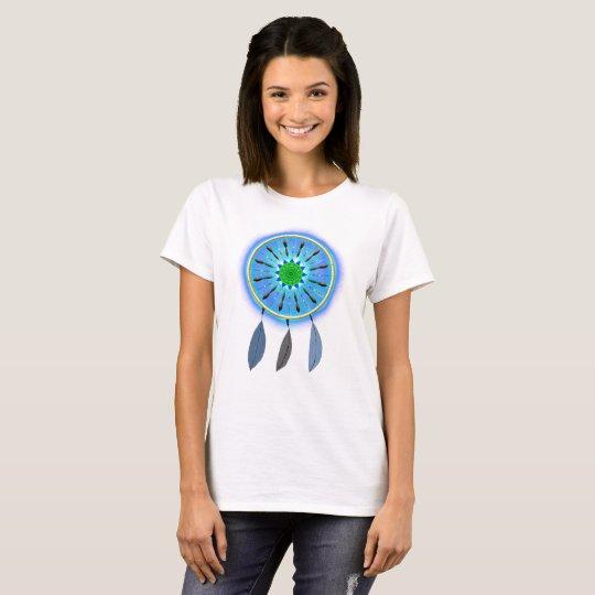 Dreamcatcher de incandescência tshirt
