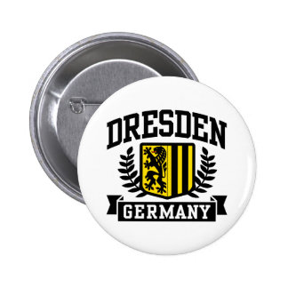 Dresden Alemanha Bóton Redondo 5.08cm