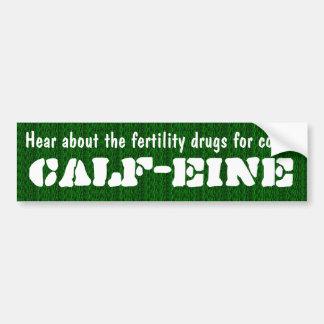 Droga de fertilidade para vacas, vitela-eine adesivo para carro