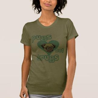 Drogas dos Pugs não Camisetas