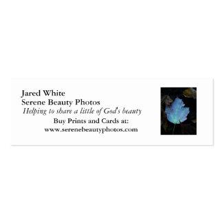 DSC07579, branco de Jared, fotos serenos da Cartão De Visita Skinny