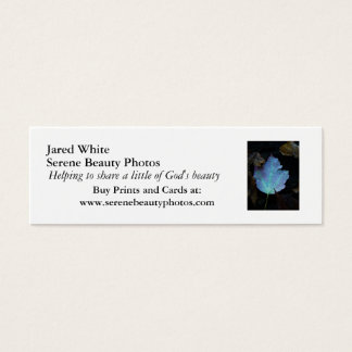 DSC07579, branco de Jared, fotos serenos da Cartão De Visitas Mini