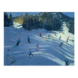 Duas Esqui-Inclinações 2004 Cartão Postal