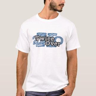 Duas vezes sobre T-Branco Tshirt