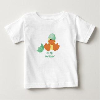 Duck o primeiro Tshirt da páscoa