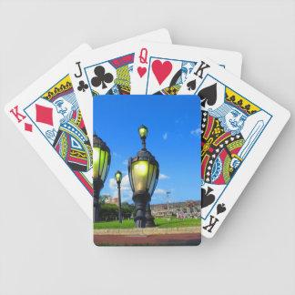 Duck opiniões da janela da excursão da cidade baralhos de poker
