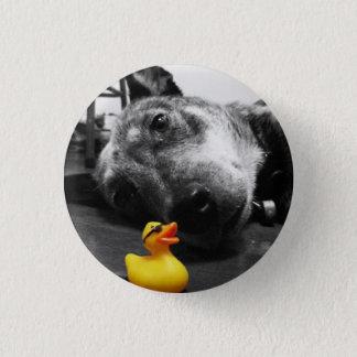 """""""Ducks o botão de borracha do pato do melhor Bóton Redondo 2.54cm"""