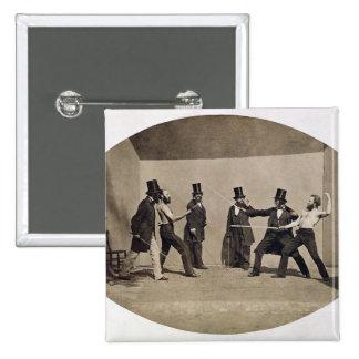 Duelar (foto) bóton quadrado 5.08cm