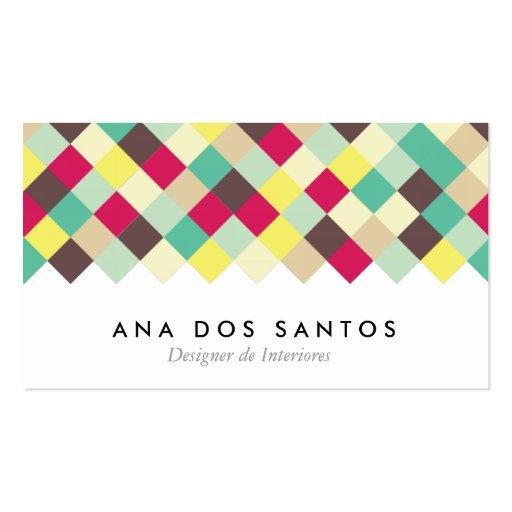 Duik in Kleur Visitekaartjes Business Card