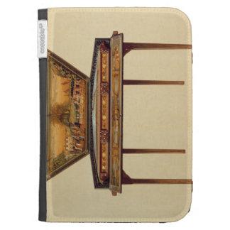 Dulcimer martelado em um soundbox pintado, 18o cen