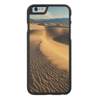 Dunas de areia no Vale da Morte, CA