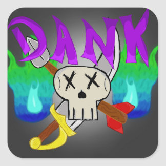 Dungeon e etiqueta do Dankness