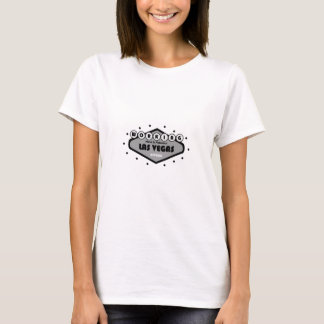 Duro de TRABALHO na boneca fabulosa T de Las Vegas T-shirts