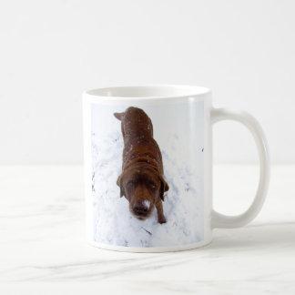 É aquele chocolate quente? caneca de café