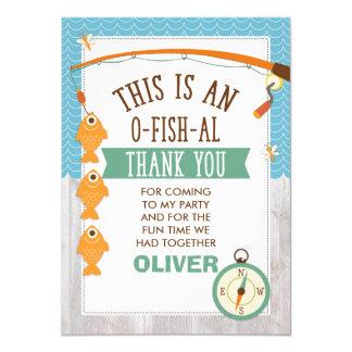 É cartões de agradecimentos do aniversário de convite 11.30 x 15.87cm