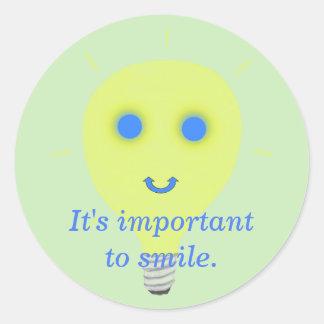 É importante sorrir, para enfrentar etiquetas da