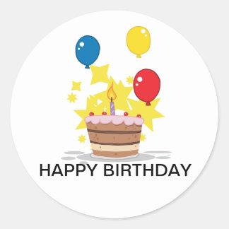 É meu aniversário adesivo