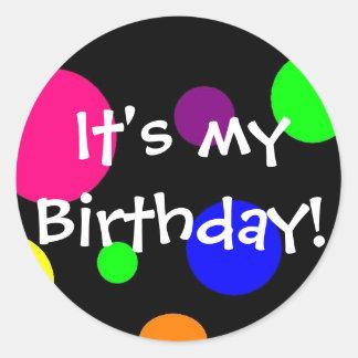 É meu aniversário! adesivo