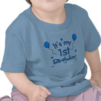 É meu primeiro aniversario t-shirt