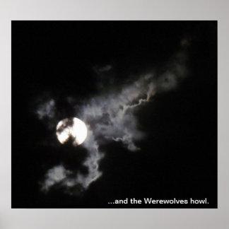 … e o uivo dos homens-lobo posteres