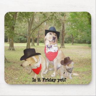 É sexta-feira ainda? mousepad
