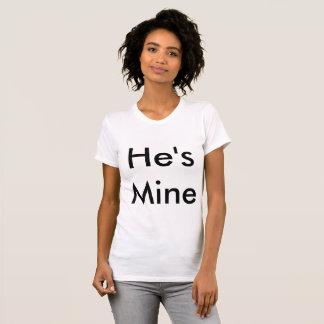 É t-shirt da mina