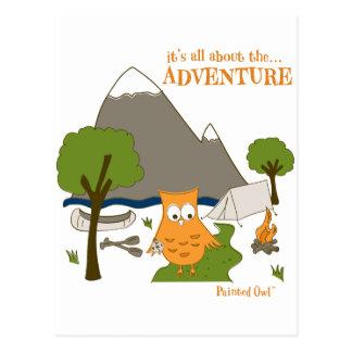 É toda sobre a aventura cartão postal