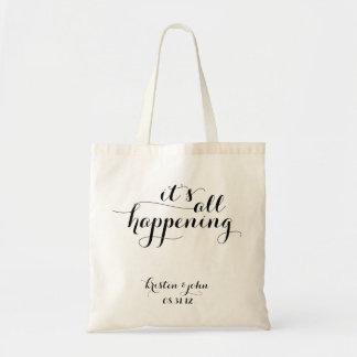 É todas as sacolas de acontecimento do casamento bolsa tote