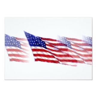 E.U. - Convite da bandeira americana