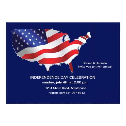 E.U. do convite patriótico de América