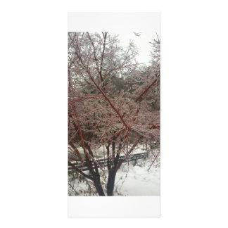 é um dia da neve modelos de panfletos informativos