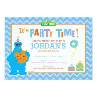 É um partido do biscoito convite 12.7 x 17.78cm