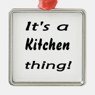 É uma coisa da cozinha! enfeites