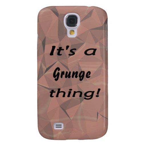 É uma coisa do grunge!