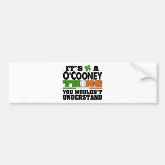 É uma coisa que de O'Cooney você não compreenderia Adesivo Para Carro