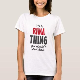 É uma coisa que de Rima você não compreenderia Camiseta