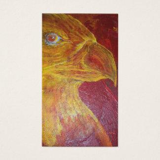 Eagle abstrato cartão de visitas