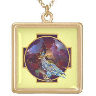 Eagle - № celestial 10 do andarilho colar com pendente quadrado