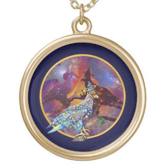 Eagle - № celestial 13 do andarilho colar com pendente redondo